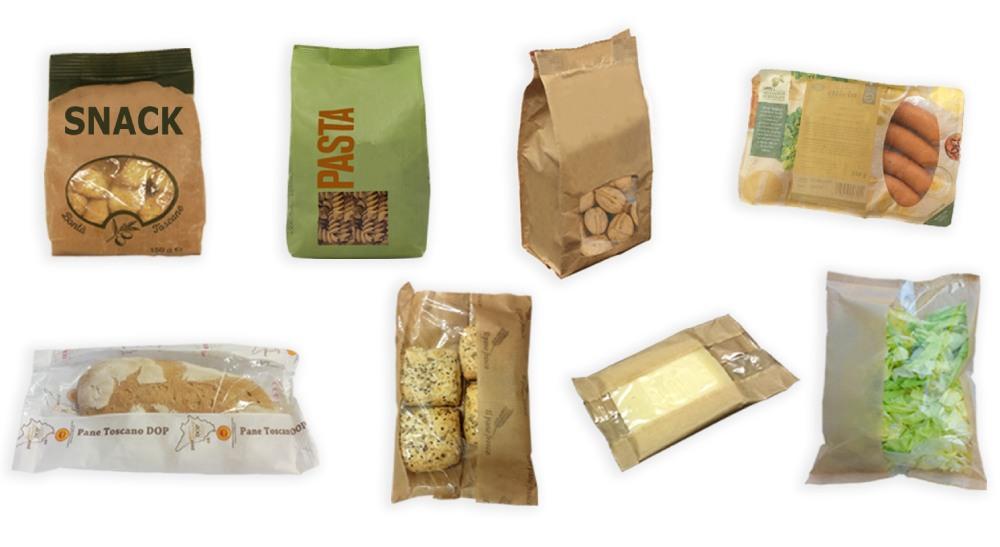 Film Accoppiato con Carta per Confezionamento Alimentare - Kemiplast