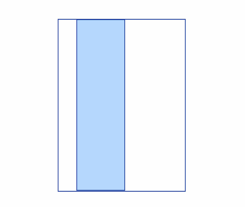 Busta con finestra laterale - Kemiplast