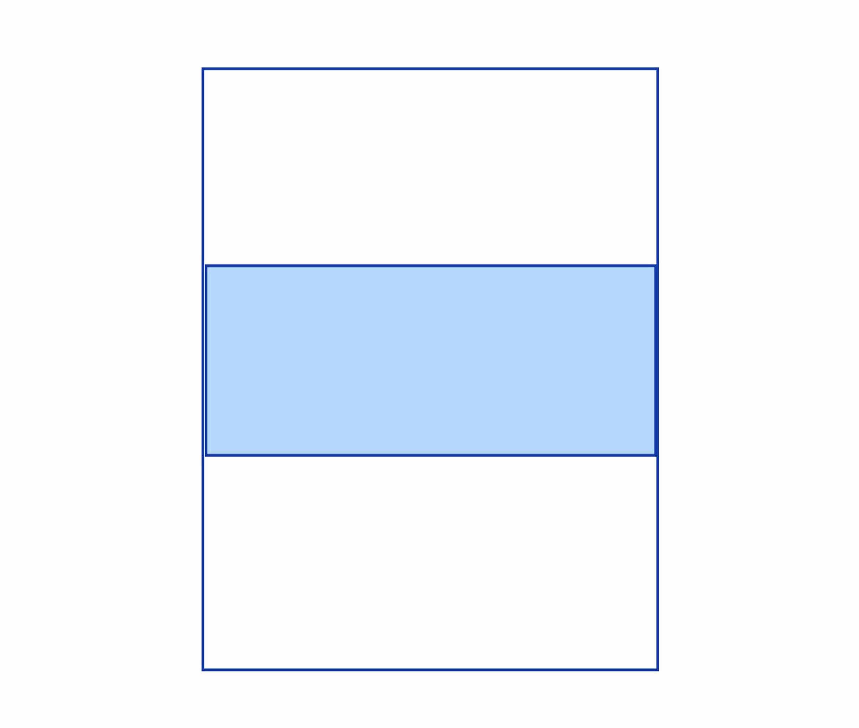busta con finestra orizzontale - Kemiplast