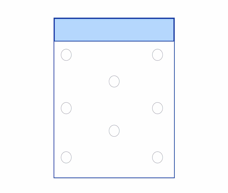 Busta macroforata - Kemiplast