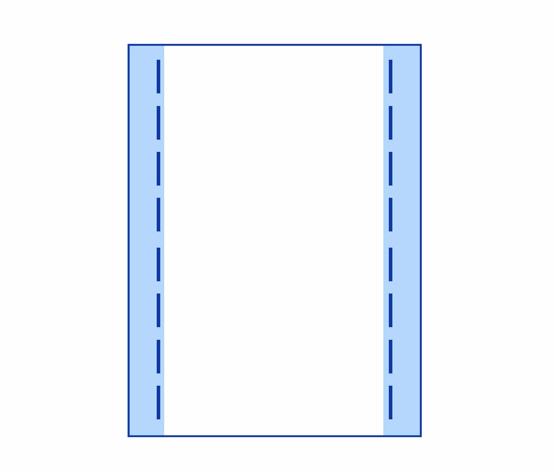 Busta con soffietto laterale - Kemiplast